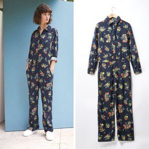 Comptoir des cotonniers floral jumpsuit FR42/ US10